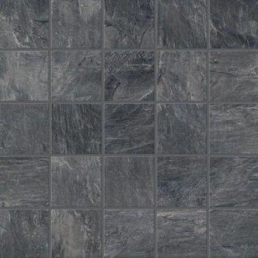 Мозаика Piemme Ardesia Mosaico Nero Ret. 00758 30x30 матовая