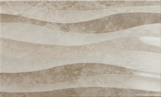 Bevelled Eleganza Waves Taupe