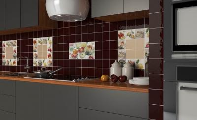 Плитка Absolut Keramika Acuarela Frutas