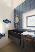 Плитка Bardelli Il Pesce Seleste