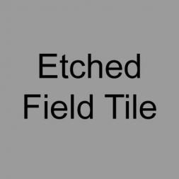 Etched Field Tile