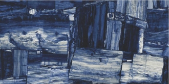 Block Wood Blue