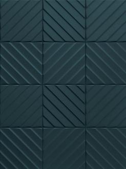 4D Diagonal Deep Blue