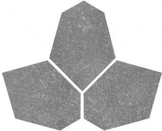 Abaco Esagona Irregolare Grey Dark 4635