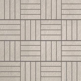 Absolute Stone Mosaico 64 Mod. Bianco Lap. 15714