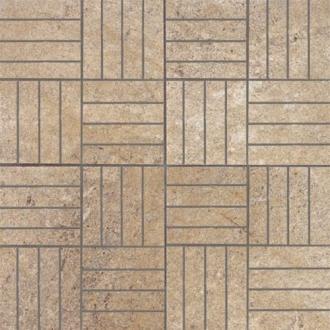 Absolute Stone Mosaico 64 Mod. Noce Lap. 15627