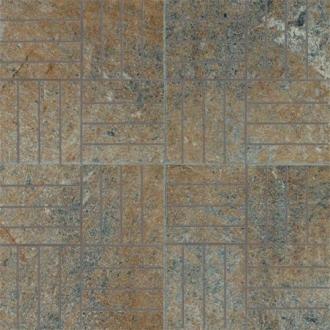 Absolute Stone Mosaico 64 Mod. Verde Lap. 15628