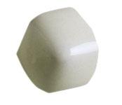 ADNE5587 Angulo Bullnose Trim Silver Mist