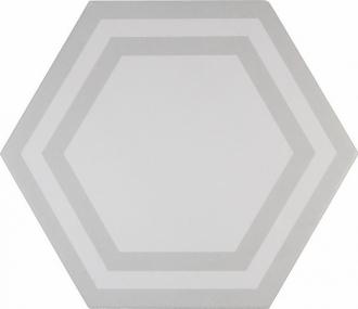 ADPV9019 Pavimento Hexagono Deco Light Gray