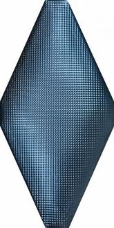 ADNE8122 Rombo Acolchado Micro Cobalto