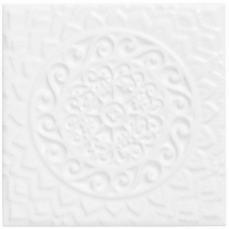 ADST4074 Relieve Mandala Universe Snow Cap