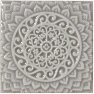ADST4080 Relieve Mandala Universe Graystone