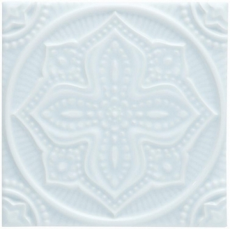 ADST4096 Relieve Mandala Planet Ice Blue