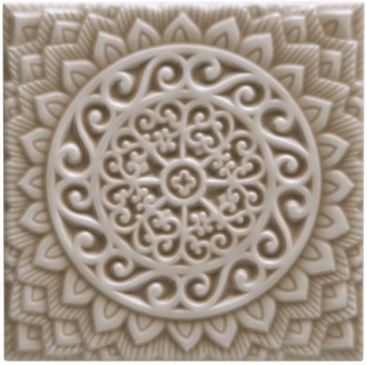 ADST4100 Relieve Mandala Universe Silver Sands