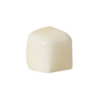 ADST5232 Angulo Bullnose Trim Almond
