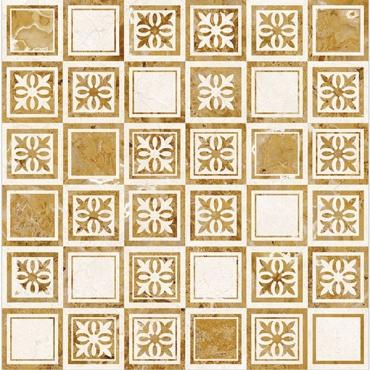 Декоративный элемент Dual Gres Agatha Marfil 45x45 глянцевый