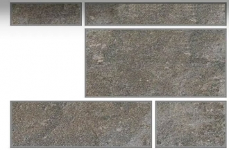 Anthology Stone Mix 5 Dark Grey Nat. Rett. Outdoor