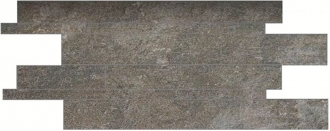 Anthology Stone Mosaico Listelli Sfalsati Dark Grey Nat. Rett. Indoor
