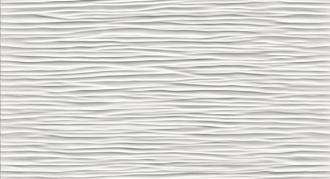 3D Wave White Matt 9D5W