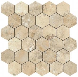 Aix Blanc Honeycomb Tumbled AØUA