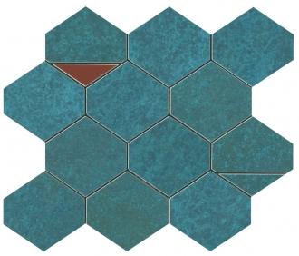 Blaze Verdigris Mosaico Nest 9BNV