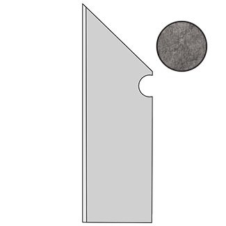 Brave Grey Battiscopa Sag. SX A1JH