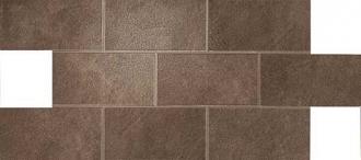 Dwell Brown Leather Brick Lappato A1E6