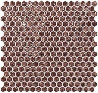 Dwell Rust Hexagon Gold 6DHR