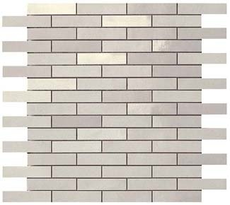 Dwell Silver Mosaico Brick 9DBV