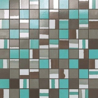 Dwell Turquoise Mosaico Mix 9DMT