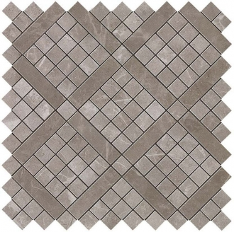 Marvel Grey Fleury Diagonal Mosaic 9MVD