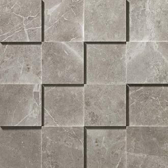 Marvel Grey Fleury Mosaico 3D ADQA
