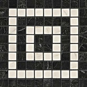 Marvel Noir/Cremo Angolo Mosaico ADRI