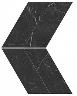 Marvel Nero Marquina Chevron Lappato AS1W
