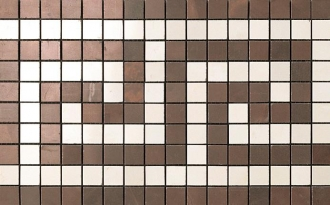 Marvel Bronze/Champagne Greca Mosaico ASM8