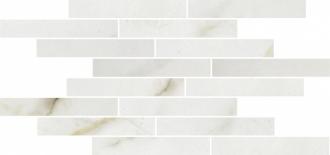 Attica Mosaico Muretto Bianco Lev