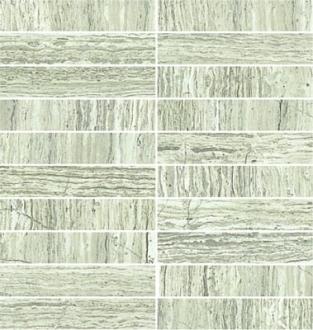 Attica Pro Mosaico Brick Gesatto Grigio Lev