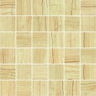 Attica Pro Mosaico Travertino Beige (5x5) Lev