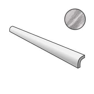 Bardiglio Pencil Bullnose Dark 23766