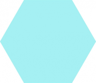 Basic Hex 25 Aqua