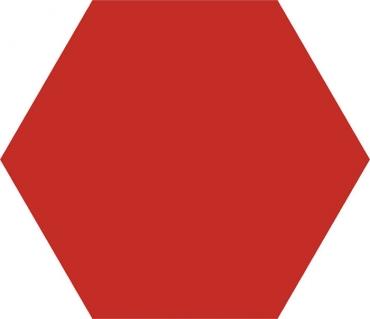Керамогранит Codicer Basic Hex 25 Red 22x25 матовый