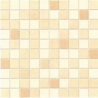 Belle Epoque Mosaico Su Rete Avori-Beige