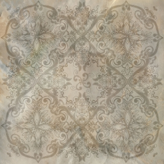 Bright Pearl Bronze Decoro Rett. 531184
