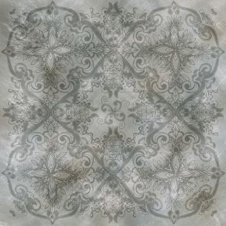 Bright Pearl Silver Decoro Rett. 531224