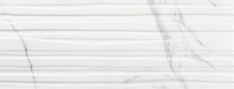 Calacatta Branches Mate Slimrect White