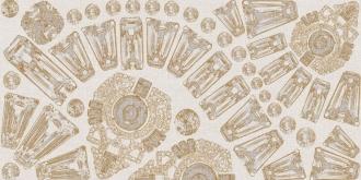 Canvas Composicione Diadema Oro