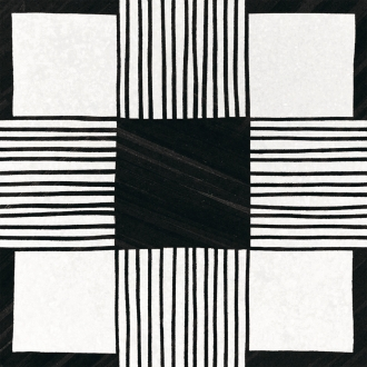 Caprice Cloth B&W Deco