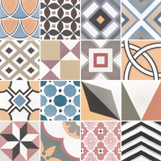 Caprice Patchwork Colours Deco