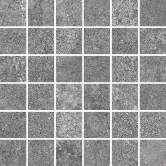 Castle Mosaico 4,7x4,7 Dark Grey 64317