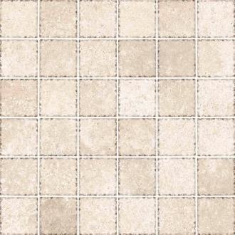 Cottage Mosaico 4,7x4,7 Bianco 64808